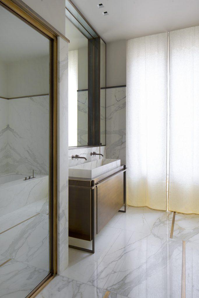 marmo calacatta interni rodolphe parente decorazione